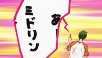 Momoi phones Midorima anime