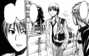 Kise wants to talk with Kuroko
