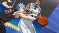 Kuroko steals the ball Zone