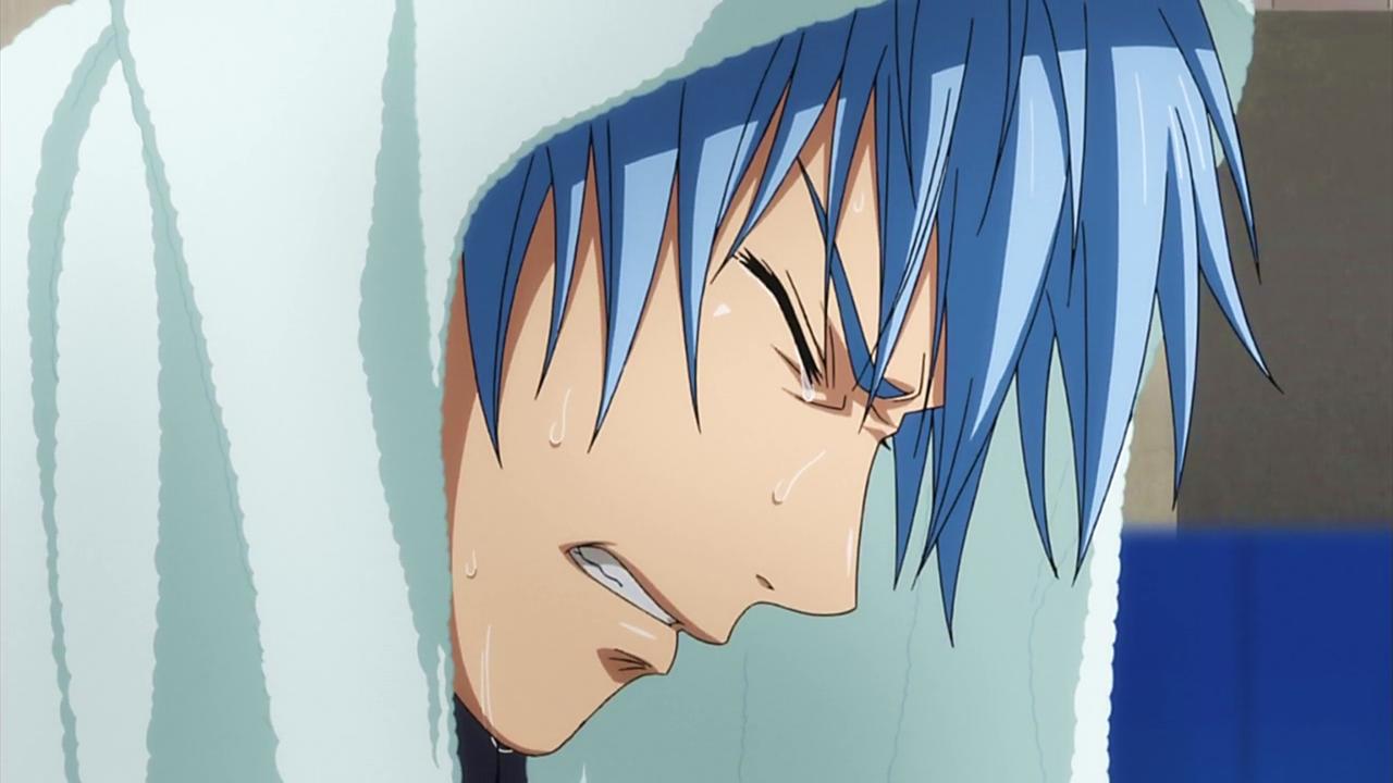 Kuroko cries png