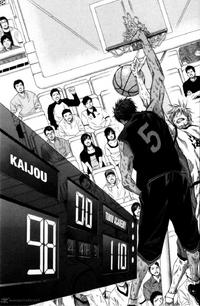Touou wins against Kaijo