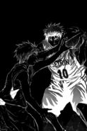 Akashi uses Emperor eye on Kagami