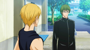 Midorima reunites with Kise anime