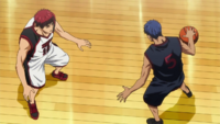 Kagami vs Aomine One on One