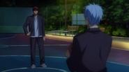 Kagami confronts Kuroko anime