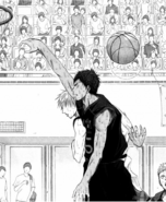 Kise copies Aomine