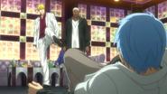 Nash kicks Kuroko anime