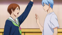 Kuroko introduces himself anime