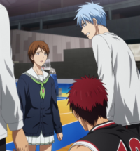 Kuroko's determination to win