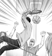 Aomine final basket