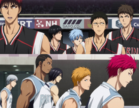 Both teams return to the court
