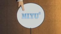 Miyaji's fan of Miyu