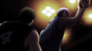 Murasakibara vs Kiyoshi in Middle school