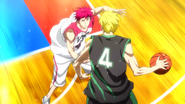 Akashi pressures Gold anime