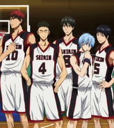 Seirin High anime IH