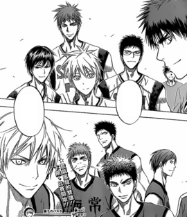 Seirin High vs Kaijo High WC