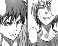 Akashi and Murasakibara quarrel