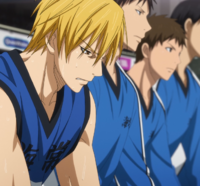 Kise is benched