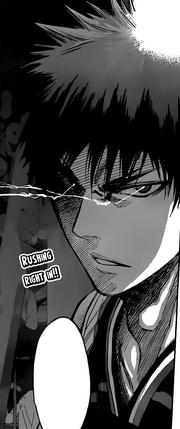 Kagami's Zone vs Rakuzan
