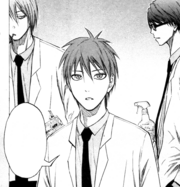Akashi in middle school