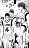 Seirin's regulars