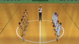 Teikō Junior High vs Nambara Junior High