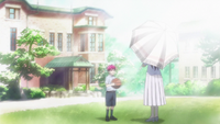 Akashi with his mother anime