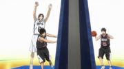Koganei passes to Izuki anime