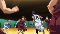 Teiko vs Kamizaki