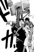 Kagami and Aomine stop Silver