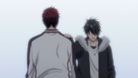 Himuro and Kagami reconcile anime