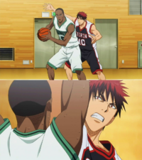 Kagami pressure defense anime