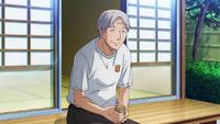 Takeda sensei at the training camp