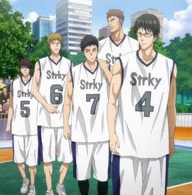Team Strky anime