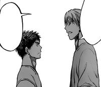 Kise and Kasamatsu first meeting