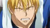 Kise cries anime