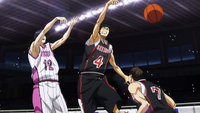 Seirin blocks Himuro