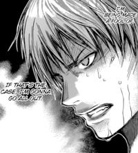 Angered Mayuzumi