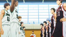 Seirin High vs Shinkyo Academy anime