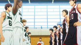 Seirin High vs Shinkyo Academy anime