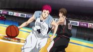 Akashi passes Furihata anime