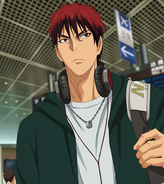 Kagami leaves for LA