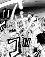 Kagami blocks Midorima