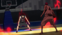 Kagami pressures Akashi