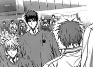Akashi with Kuroko and Kagami