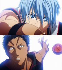 Ignite Pass Kai passes Aomine