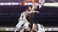 Akashi stops Kiyoshi from scoring
