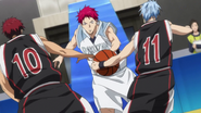 Kuroko uses is EE again anime