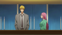 Kise and Momoi spectate Shutoku vs Seirin