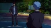 Kuroko confronte Kagami